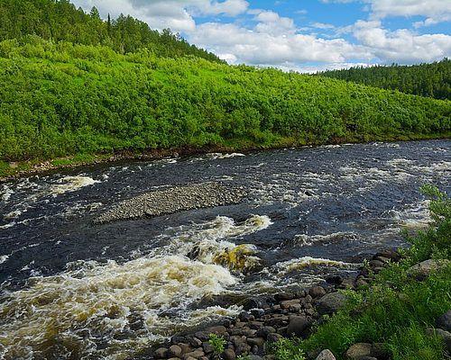 Рыболовный тур на реке Северная