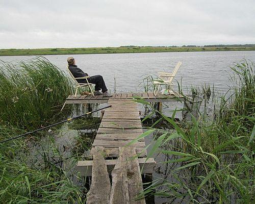 Озеро Кривое под Краснозерском