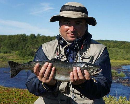 Рыбалка на Кольском полуострове с Александром