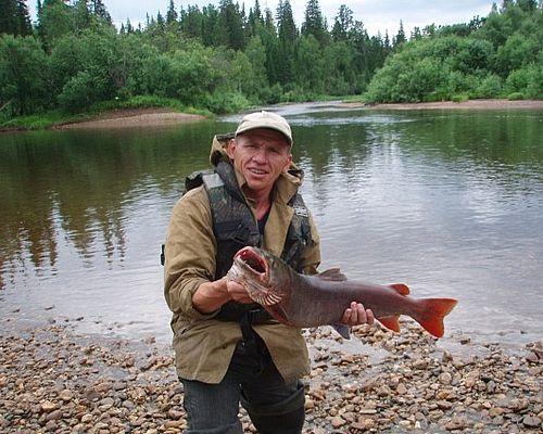 Рыбалка на тайменя в Красноярске