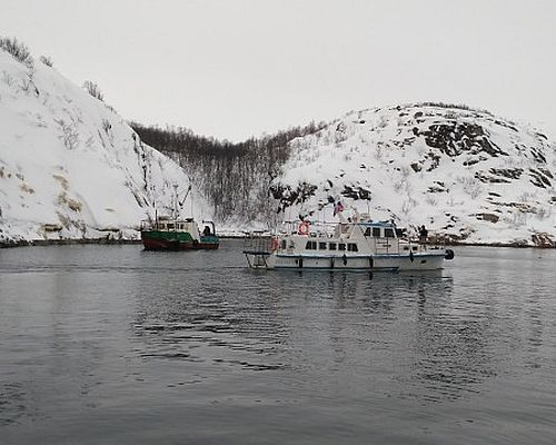 Рыбалка в открытом море с Сергеем