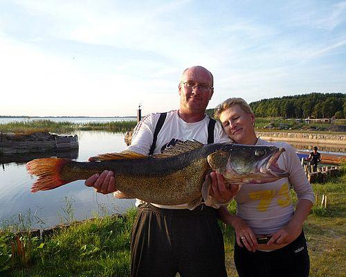 Рыбалка в Псковской области с Николаем