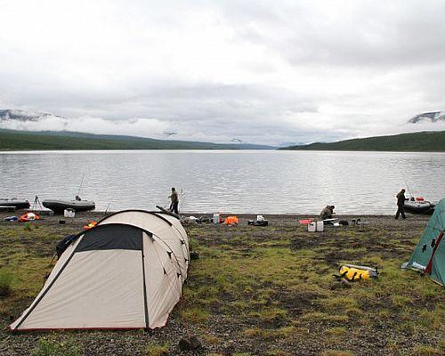 Сплав и рыбалка в Эвенкии с Павлом