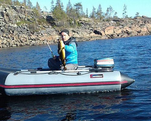 Рыбалка на Белом море с Анатолием
