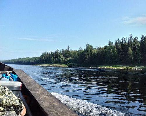 Рыбалка на реке Бахта с Валерией