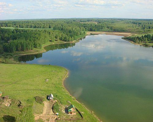 Платное озеро в Верх-Балте