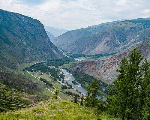 Путешествие на плато Укок и в долину реки Чулышман