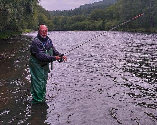 Рыбалка на реке Камчатка