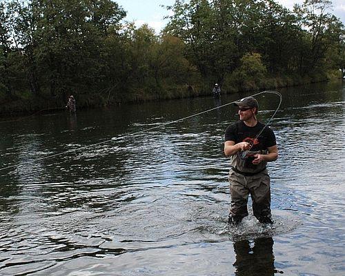 Рыбалка на реке Восточная Озёрная