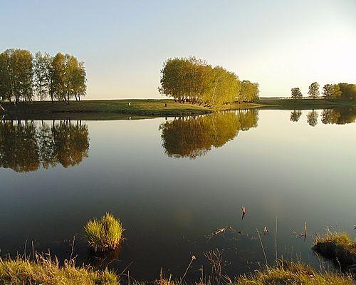 Платный пруд в Степном