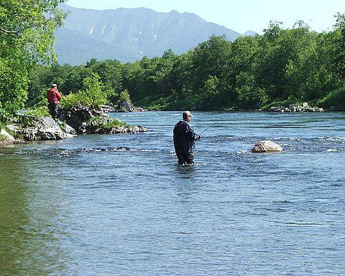 Рыбалка на реке Быстрая (Малкинская)