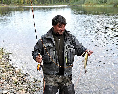Рыбалка на реке Народа