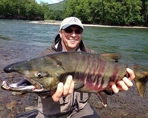 Рыбалка на реке Ича