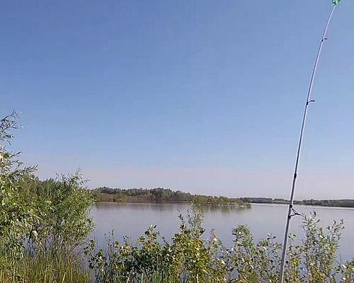 Платный водоем между Сосновкой и поселком Новоомский
