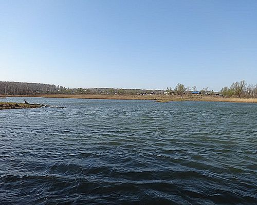 Озеро в Плотниково/Репьево