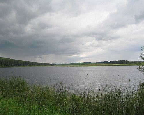 Пруд на Рябчинке