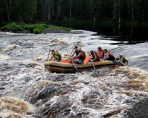 Рыбалка в Карелии с Романом Александровичем
