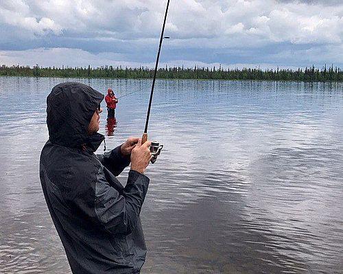 Сплав по Умбе и рыбалка с Александром