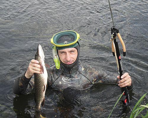 Подводная охота во Владимирской области с Сергеем