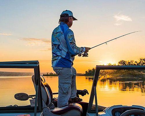Рыбалка в Вольске с Сергеем