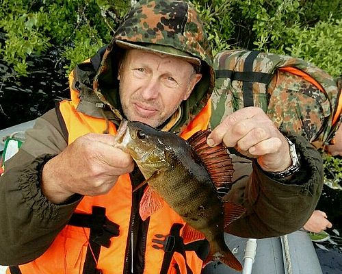 Рыбалка и сплав в Карелии с Русланом