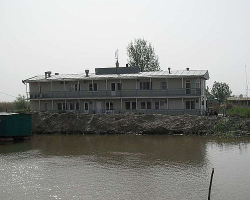 Рыболовно-охотничья база «Орлан» (дебаркадер)