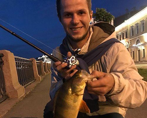 Рыбалка в Ленинградской области с Кириллом Сербиным