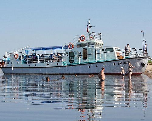 Рыболовный тур на теплоходе по реке Лена