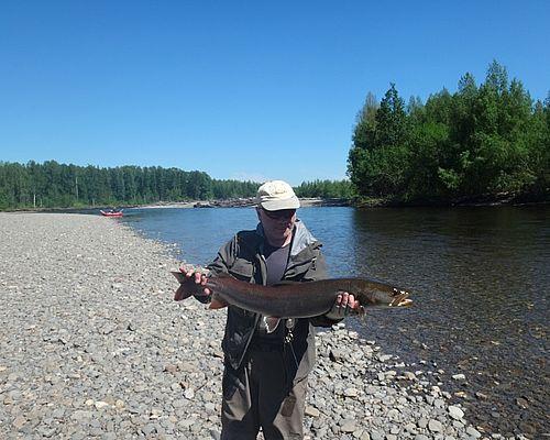 Рыбалка-сплав по реке Уда