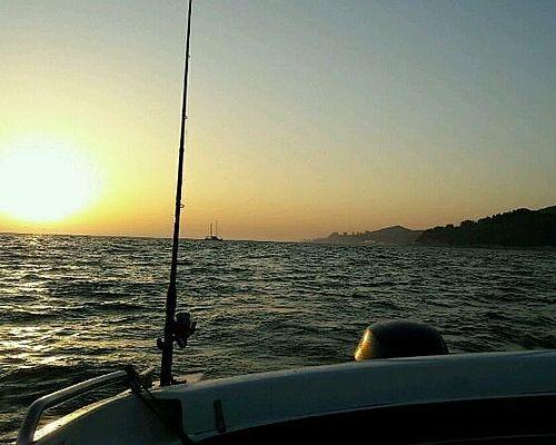 Рыбалка в Чёрном море с Романом