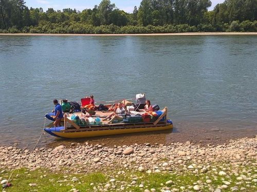Сплавы с рыбалкой по горным рекам Бия, Лебедь