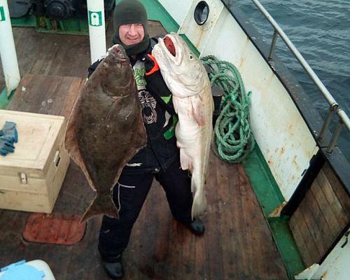 Рыбалка в Баренцевом море с Игорем