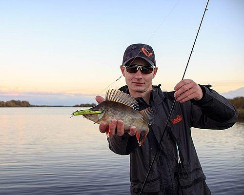 Рыбалка в Ленинградской области с Даниилом