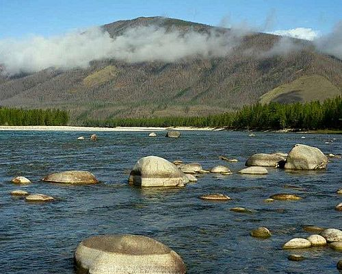 Рыболовный тур на реку Дянышка