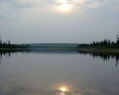 Рыболовный тур на реку Люнкюбей
