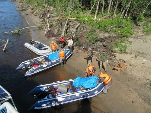 Рыболовный круиз на теплоходе по реке Лена (Жиганск - Бесюке - Жиганск)