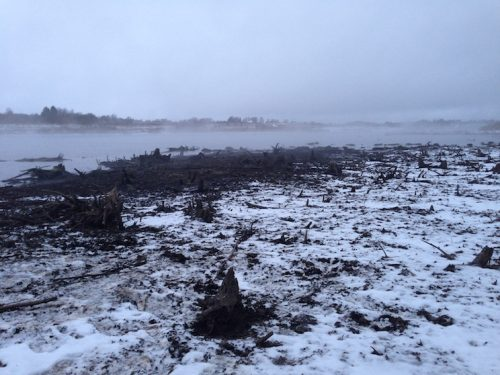 Ловля карася в декабре на поплавочную удочку