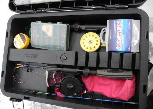 Выбираем ящик для зимней рыбалки