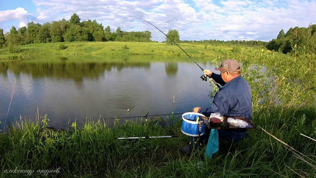Ловля уклейки в августе на поплавочную удочку