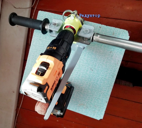 Электроледобур для зимней рыбалки. Фото 3